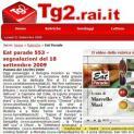 """RAI2 """"Eat Parade"""" con Gaetavola"""